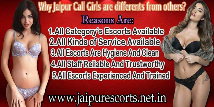 Different Jaipur Call Girls